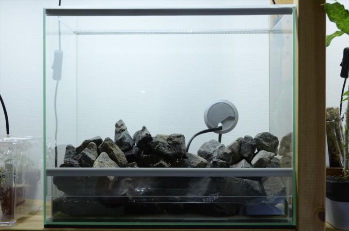 エーハイムレプタイルケージ4025 アクアテラ 石組み